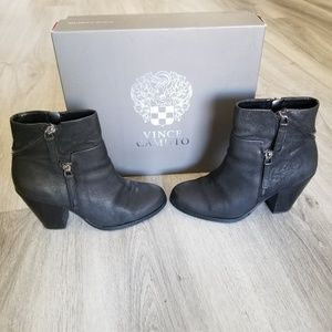 Vince Camuto Leather Boots.